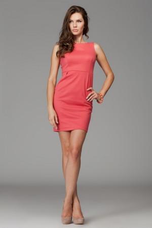 Dámské šaty M079 coral korálová