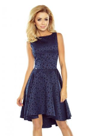 Dámské šaty 175-3 tmavě modrá