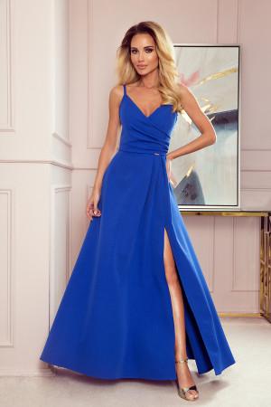 Dámské šaty  299-3 Chiara královsky modrá