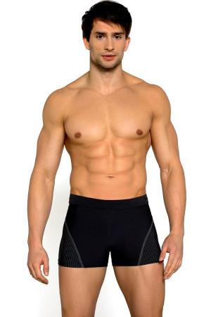 Pánské plavky boxerky Thomas černé