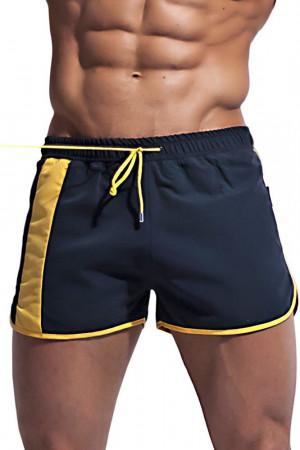 Alpha Male boxerkové plavky Curso černé