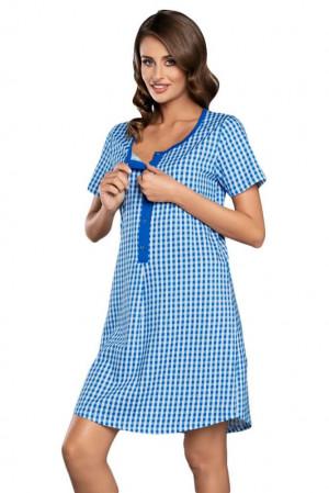 Kojicí a těhotenská košilka Michalina modrá