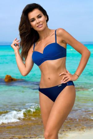 Dvoudílné plavky Evita modré