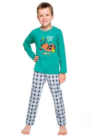 Klučičí pyžamo Leo zelené zelená