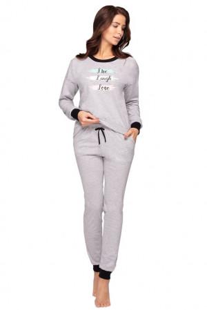 Dámské pyžamo Irena šedé šedá