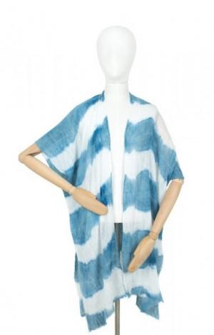 Art Of Polo 20136 Hippie Pareo 95x90 cm White-Blue
