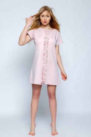 Sensis Angel pudrově růžová Noční košilka L/XL starorůžová