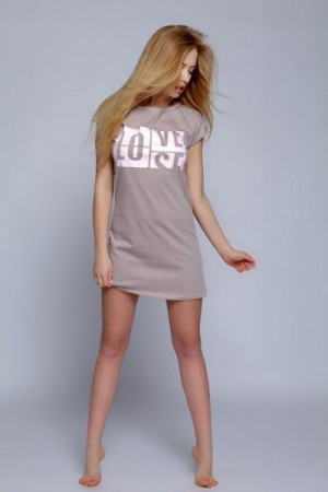 Sensis Eve Mocca Noční košilka XL Mocca