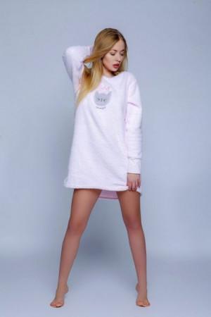 Sensis  Soft Cat Noční košilka L/XL růžová