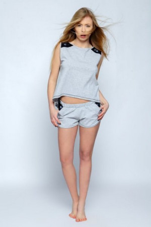 Sensis Siren Dámské pyžamo L/XL šedá