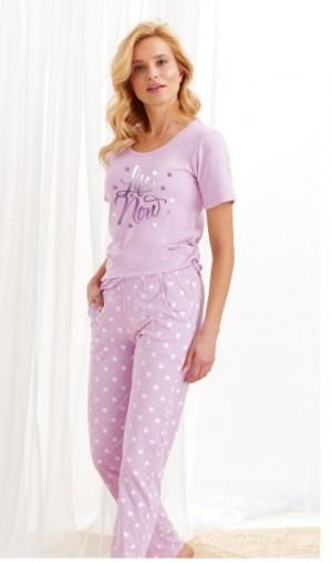Taro Nadia 1190 Z'20 Dámské pyžamo XL fialová