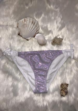 Dámské plavky Fantasy Shiny K1903 spodní díl L Bílá
