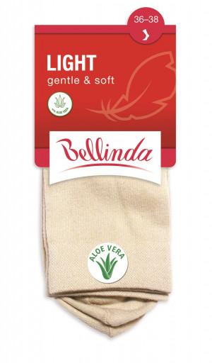 Pánské ponožky LIGHT gentle soft - BELLINDA tělová 35-38