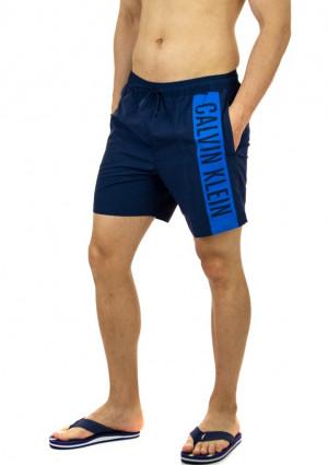 Pánské plavky Calvin Klein KM0KM00437 L Tm. modrá