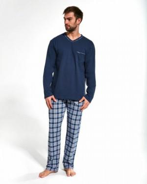 Cornette 122/168 Eric Pánské pyžamo M tmavě modrá