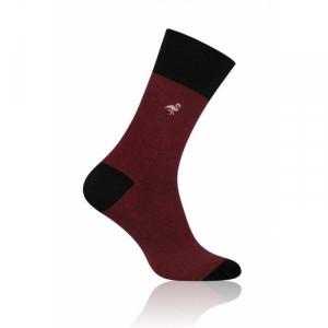 More Elegant 051 Pánské ponožky 39-42 bordová