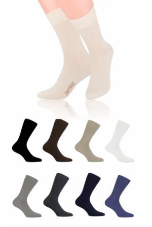Steven 086 bambusové Ponožky 38/40 béžová