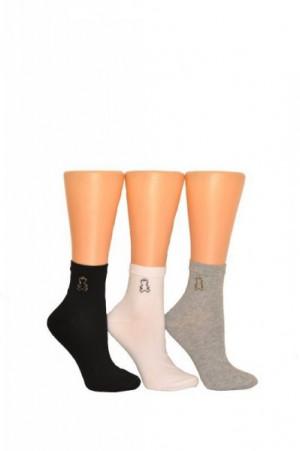 Milena Przywieszka 0996 Dámské ponožky 37-41 grafitová (tmavě šedá)