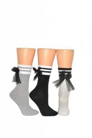 Milena Tyl 1009 Dámské ponožky 37-41 grafitová (tmavě šedá)