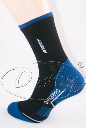 Derby Active Sport Ponožky 39-41 tmavě mix vzor