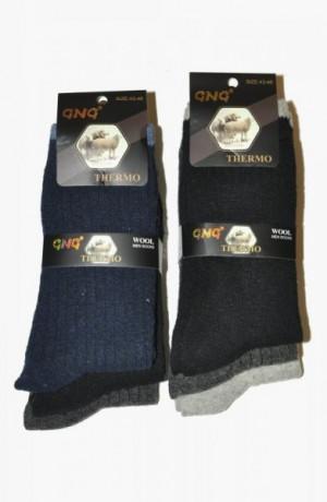 Ulpio GNG 1727 Thermo Wool A'3 Ponožky 40-43 černá