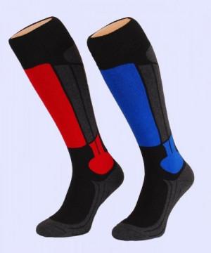 Ulpio Hot Socks Ski ponožky 35-38 šedá/červená
