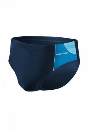 Sesto Senso BD 402 tmavě modrý Pánské plavky XXL tmavě modro-modrá