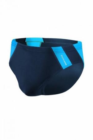 Sesto Senso BD 447 tmavě modrý Pánské plavky L tmavě modro-modrá