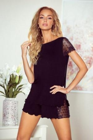 Eldar Nicola černé Dámské pyžamo S černá