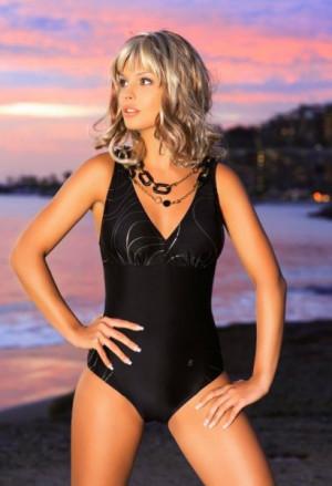 Ewlon Capri (1) Dámské plavky 40 černá