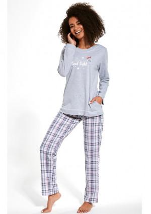 Dámské pyžamo Cornette 679/254 L Sv. šedá