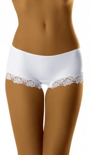 Wol-Bar Kate bílé Kalhotky L bílá