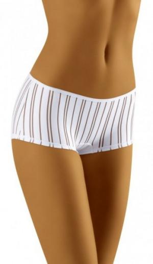 Wol-Bar Moly bílé Kalhotky L bílá