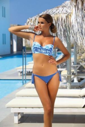 Ewlon Palm Springs (1) Dámské plavky 36 modrá