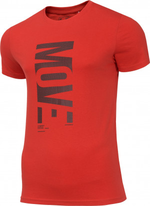 Pánské tričko 4F TSM072 Červené