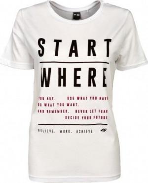Dámské tričko 4F TSD009 Bílé