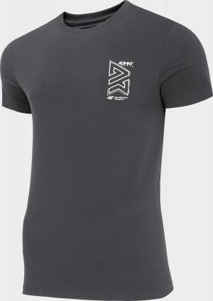 Pánské  tričko 4F TSM215 Tmavě šedé
