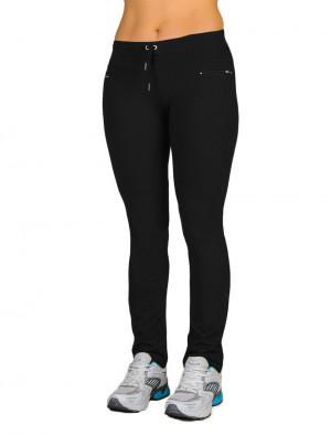 Dámské dlouhé kalhoty SLIM 0146 černá XL/32
