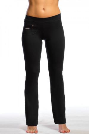 Dámské dlouhé kalhoty 0126 černá XL/30