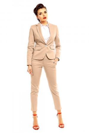 Dámské kalhoty model 142416 - Cabba béžová