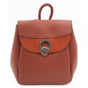 Dámský batoh v cihlové barvě BESTINI univerzální