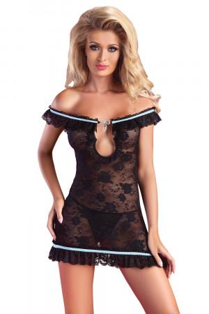 Dámské šaty Mija black černá S/M