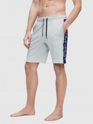 Pánské pyžamové šortky NM1800E-080 šedá - Calvin Klein šedá