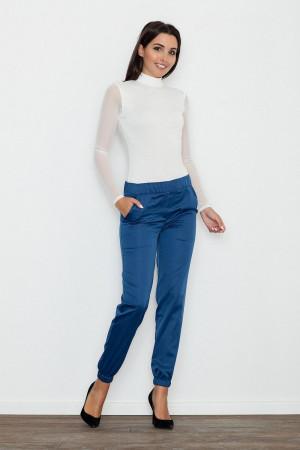 Dámské kalhoty M556 - Figl modrá