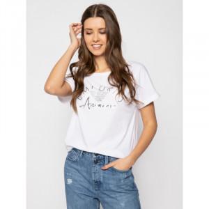 Dámské tričko 164340 0P291 00110 bílá - Emporio Armani bílá