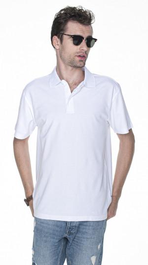 Pánské tričko POLO M POLO HEAVY 42180 bílá