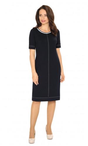 Dámské šaty model 105120 - Vadima tmavě modrá