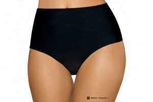 Dámské plavkové kalhotky vysoké 8014 - Lorin černá