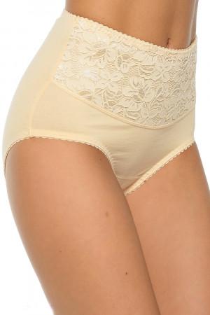 Dámské stahovací kalhotky Ala super beige béžová 7XL