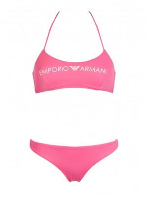 Dámské dvoudílné plavky 262618 0P313 00073 růžová - Emporio Armani růžová